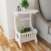 床頭櫃 簡約床頭櫃現代客廳儲物小櫃子宿舍臥室簡易仿實木 非凡小鋪 igo