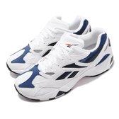 Reebok 復古慢跑鞋 Aztrek 96 白 藍 麂皮鞋面 老爹鞋 運動鞋 男鞋 【PUMP306】 DV6756