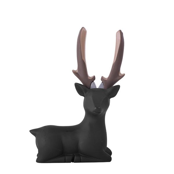 iThinking愛心進_Deer lady 臥款-尖嘴鉗_霧黑