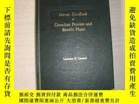 二手書博民逛書店Mercer罕見Handbook of Canadian Pension and Benefit PIans(精裝