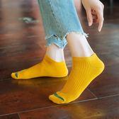 襪子女短襪純棉韓版可愛日系短筒淺口低幫薄款春夏季學院風船襪女  百搭潮品