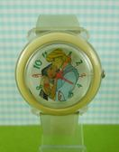 【震撼精品百貨】Disney 迪士尼 Pocahontas_風中奇緣~手錶-圓形白底透明錶面【共1款】