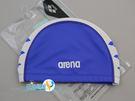*日光部屋* arena (公司貨)/FAR-6912-RBLU 2WAY舒適矽膠泳帽