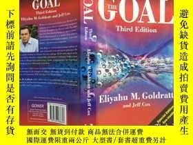 二手書博民逛書店THE罕見GOAL THIRD EDITIONY240025
