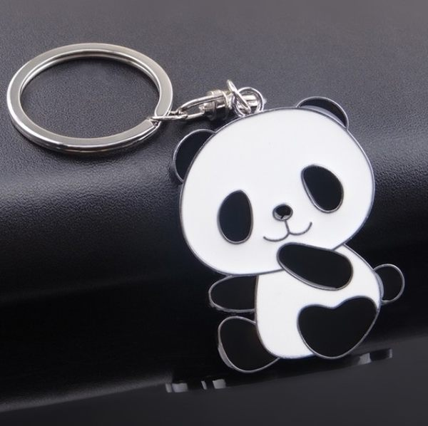 鑰匙圈   熊貓卡通  壓克力造型鑰匙圈 想購了超級小物