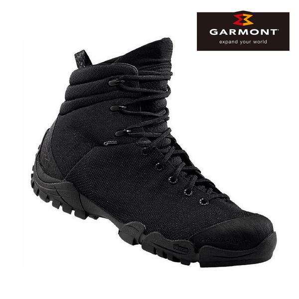 GARMONT 男款Gore-Tex中筒軍靴Nemesis 6.0 481027/212 黑色 / 城市綠洲 (中筒靴、GoreTex、防水透氣)