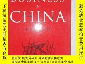 二手書博民逛書店DOING罕見BUSINESS IN CHINA [外文----