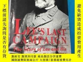 二手書博民逛書店Lee's罕見Last Campaign:The Story o