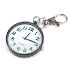 VASUCH 台灣授權 輕巧數字時尚懷錶 吊飾 鑰匙圈 PWT黑白