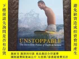 二手書博民逛書店NICK罕見VUJICIC UNSTOPPABLE The Incredible Fower of Faith i