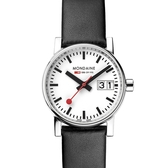 MONDAINE 瑞士國鐵evo2時光走廊腕錶-30mm/黑 30210LB