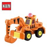 【日本正版】TOMICA DM-09 跳跳虎 挖土機 玩具車 小熊維尼 Disney Motors 多美小汽車 - 158073