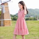 女童洋裝女童連身裙夏裝新款兒童裝女孩夏季公主裙中大童洋氣裙子 快速出貨