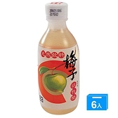 百家珍梅子活性醋280mlx6入【愛買】