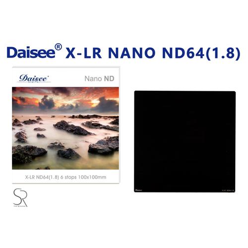 ◎相機專家◎ Daisee X-LR Nano ND64 100x100mm 1.8 方形漸層鏡 LEE 公司貨