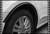 【車王小舖】Golf Polo Passat Tiguan Touran 輪眉 輪弧 小爆龜 防撞防刮條
