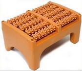 腳底按摩器實木質滾輪式足特惠免運