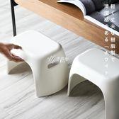 兒童椅子加厚小凳子簡約矮凳子兒童家用塑料板凳小椅子換鞋凳 伊芙莎