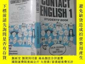 二手書博民逛書店CONTACT罕見ENGLISH 1 STUDENTS, BOO