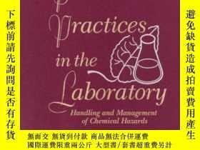 二手書博民逛書店Prudent罕見Practices In The Laboratory: Handling And Manage