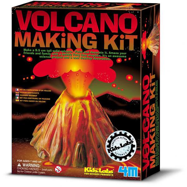 模擬火山爆發 4M科學系列 親子同遊探索