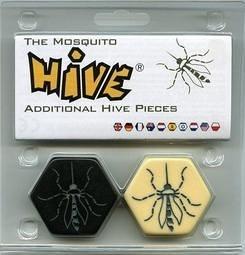 『高雄龐奇桌遊』蟲蟲蜂房 蟲蟲攻防戰 昆蟲棋 蚊子擴充 Hive The Mosquito 正版桌上遊戲專賣店