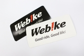 Web!ke LOGO 貼紙 - 黑白隨機