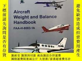 二手書博民逛書店Aircraft罕見Weight and Balance Han