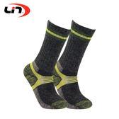 LIN OUTDOOR 登山襪 運動襪  MIT 銀纖維混紡羊毛厚底登山襪