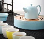 茶具套裝陶瓷實木茶盤泡茶套裝簡約家用 LQ3116『夢幻家居』