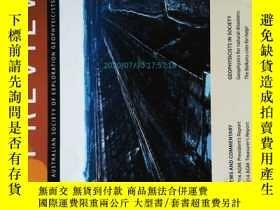 二手書博民逛書店Preview罕見(Journal) 06 2014 澳大利亞勘探地球物理學學會學術期刊Y14610