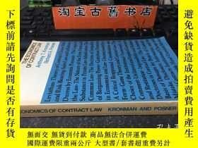 二手書博民逛書店THE罕見ECONOMICS OF CONTRACT LAW(合