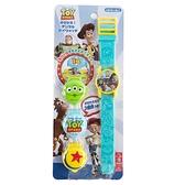 小禮堂 迪士尼 玩具總動員 可換蓋兒童手錶 (藍色款) 4971413-01764