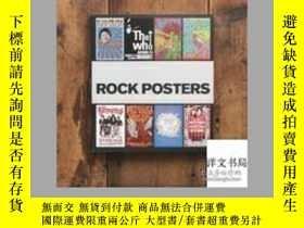 二手書博民逛書店2012年出版罕見Classic Rock Posters 精裝