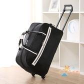 正韓拉桿包旅行箱行李拉桿箱手提大容量牛津布男女通用手拉包