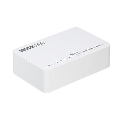 TOTOLINK 5埠家用乙太網路交換器 S505 V2