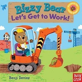 【Bizzy Bear 可愛操作書】LETS GET TO WORK