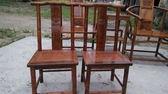 非洲黃花梨小官帽椅