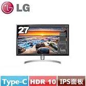 LG 27型 UHD 4K IPS液晶顯示器 27UK850-W