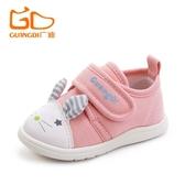 童鞋新品男女寶寶學步鞋卡通嬰幼兒春秋軟棉布鞋1-2歲防滑K41 原本良品