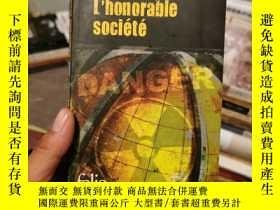二手書博民逛書店L Honorable罕見Societe (外文原版)Y291818 Dominique Manotti fo