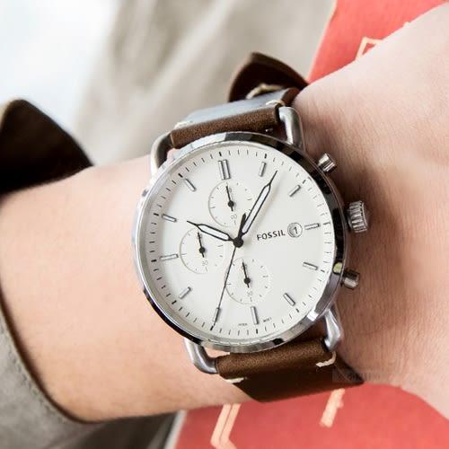 FOSSIL THE COMMUTER 質感文青簡約腕錶 FS5402 熱賣中!