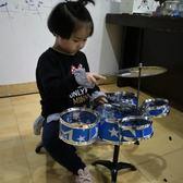 兒童架子鼓3-6歲初學者練習鼓仿真爵士鼓樂器音樂玩具敲擊打五鼓【onecity】