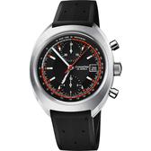 限量200只 ORIS豪利時 CHRONORIS 限量賽車計時機械錶-黑/40mm 0167377394034-SetRS