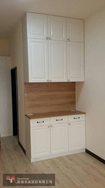 【歐雅 系統家具 】開放式矮櫃