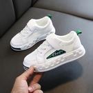 兒童小白鞋 兒童白色運動鞋男童透氣女童鞋子小白鞋春款網面夏款夏季童鞋-Ballet朵朵