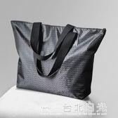 手拎袋大容量逛街購物袋旅行收納包防水輕便大號手提袋包  台北日光