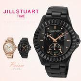 JILL STUART日本限量發售手錶 時尚黑玫瑰針造型鋯石手錶 柒彩年代【NE1015】原廠公司貨