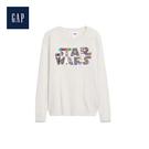 Gap女童 StarWars星際大戰系列雙面亮片長袖針織衫497644-米色