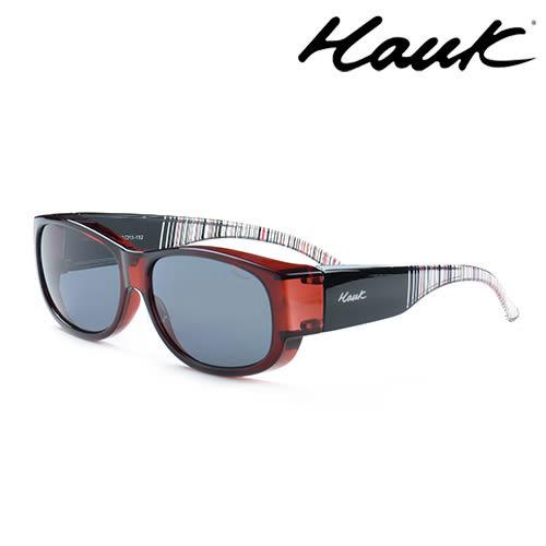 HAWK偏光太陽套鏡(眼鏡族專用)HK1002-03